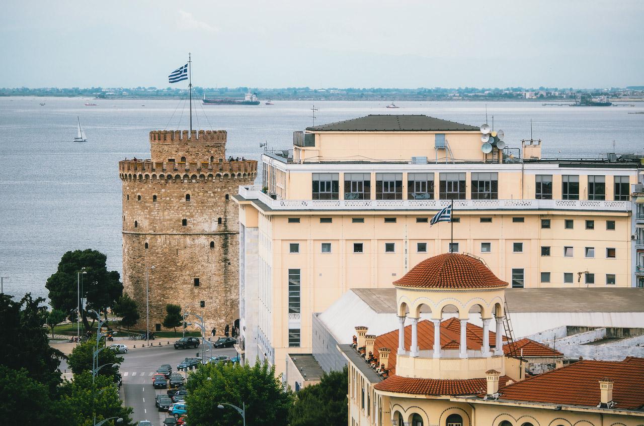 Белая Башня, Салоники, Греция
