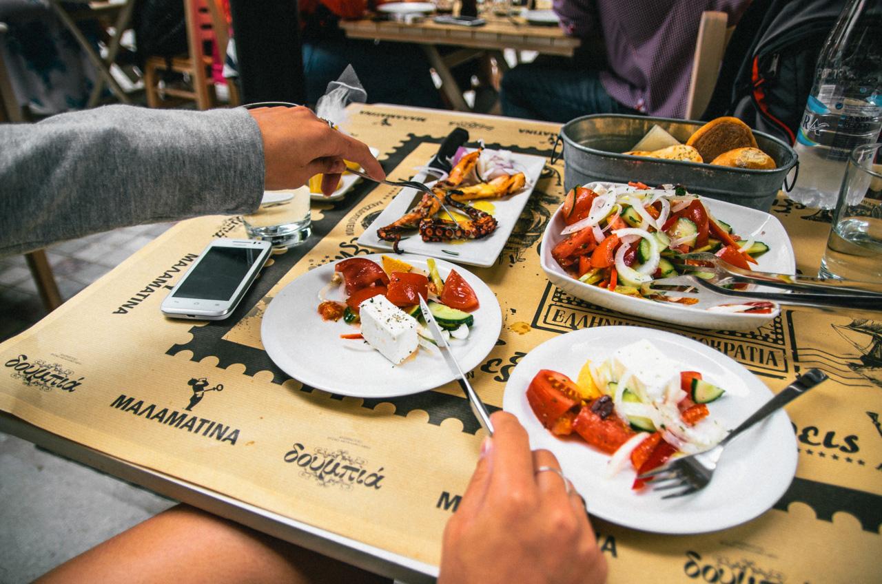 Греческая кухня в Салониках