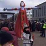 Проводы зимы в Даугавпилсе или как даугавпилчане праздновали Масленицу